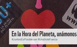 La Hora del Planeta ¡Unete!