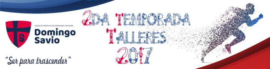 deporte - tlleres 2da temporada