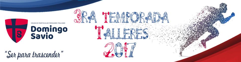 deporte - tlleres 3ra temporada