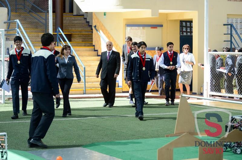 Ceremonia despedida Equipo Robotica043