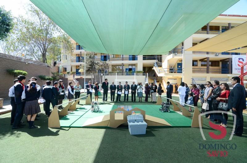 Ceremonia despedida Equipo Robotica045
