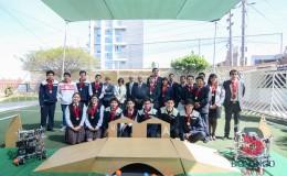 Ceremonia despedida Equipo Robotica075