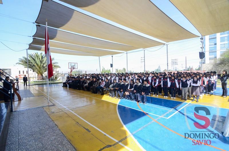 Ceremonia despedida Equipo Robotica132