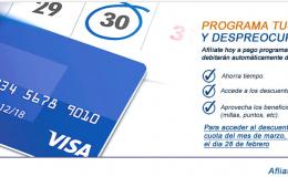 Afiliación VisaNet